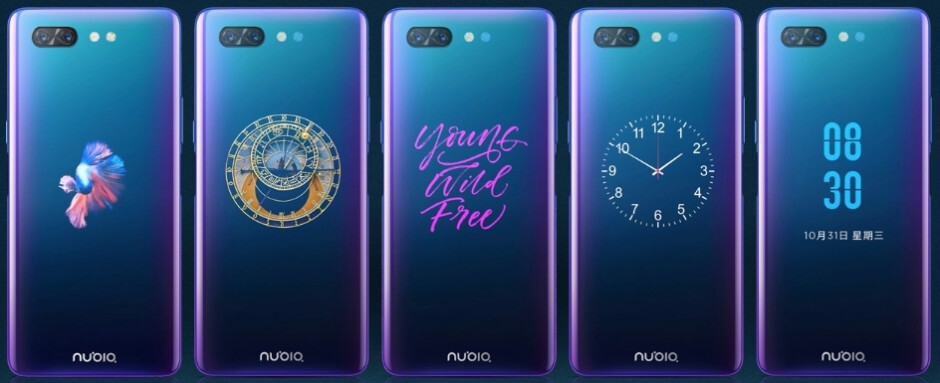 Besides custom game controls, the rear OLED screen can display custom images in an always-on mode, too - Here's what an official dual-screen phone case looks like
