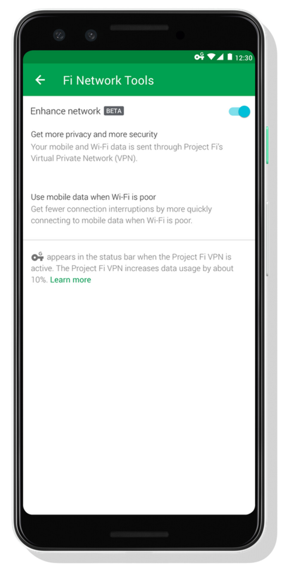 Google promises enhanced network security, faster connections on Project Fi