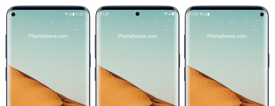 The Galaxy S10 won't have a notch, but it may have a 'hole' in its display – where should it be?
