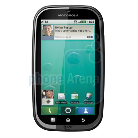 Motorola BRAVO - AT&T announces three Motorola additions to its Android stable