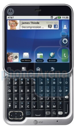 Motorola FLIPOUT - AT&T announces three Motorola additions to its Android stable