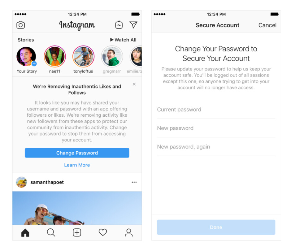 Instagram tired of people illegally boosting their likes and followers, starts cleansing profiles