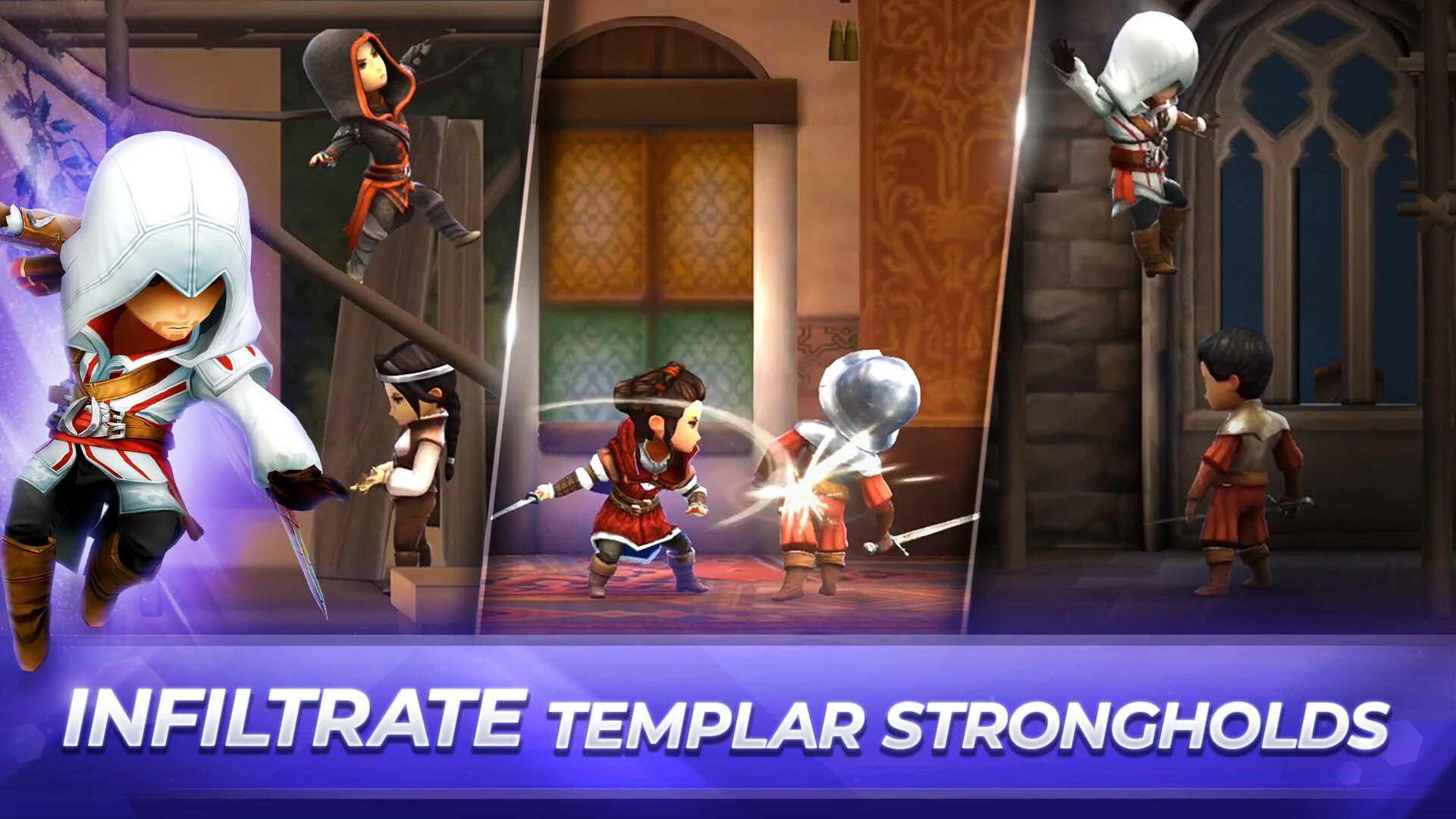 Ubisoft launches Assassin's Creed Rebellion for Android ...