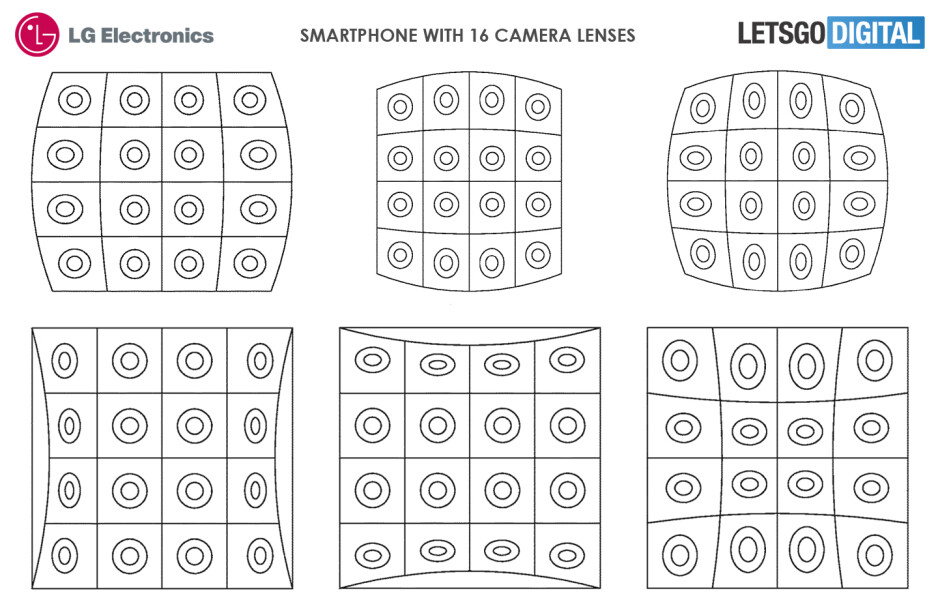 LG phone with 16 cameras could be in the works