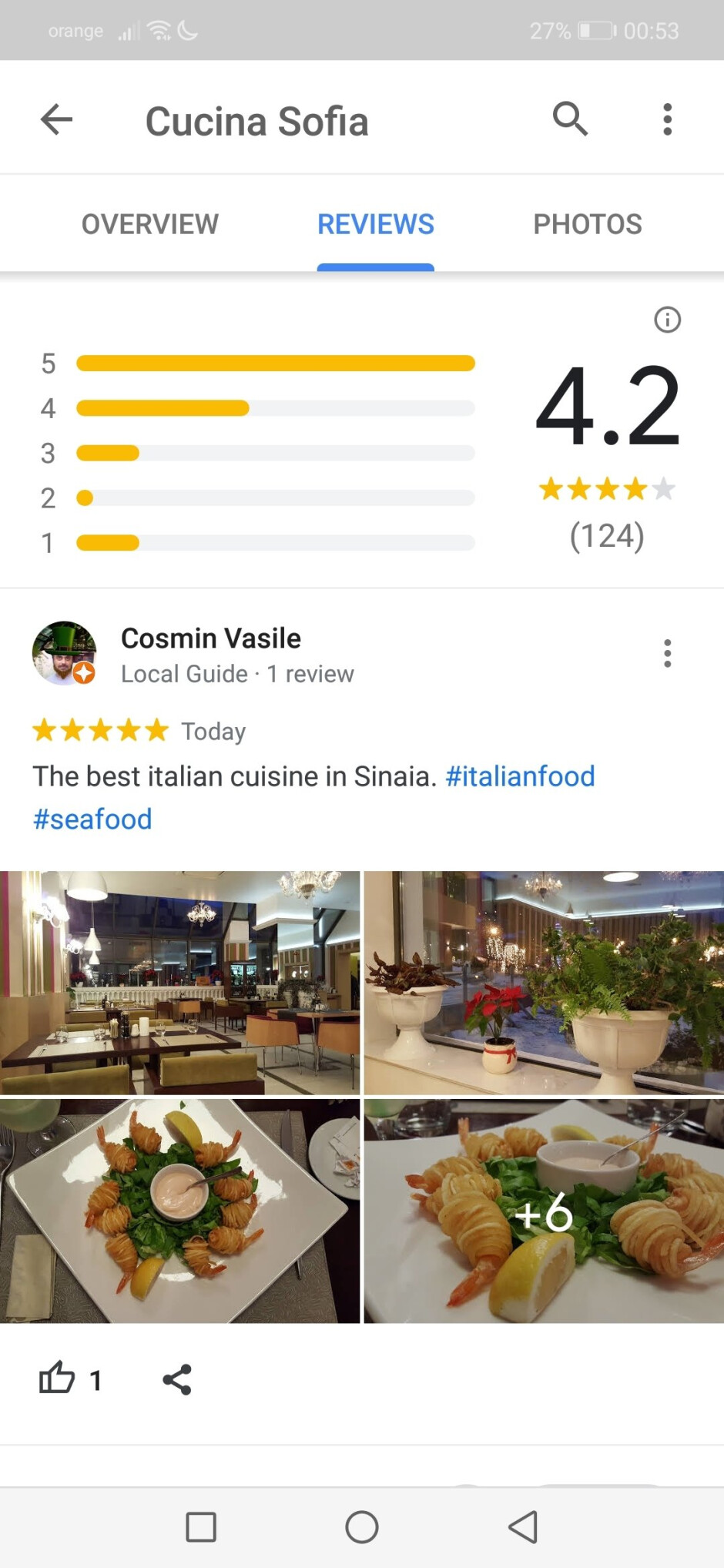 Google Maps hashtags - Google Maps update adds support for hashtags in reviews