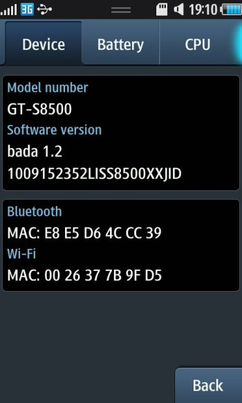 Official bada 1.2 firmware update to be released soon for the Samsung Wave