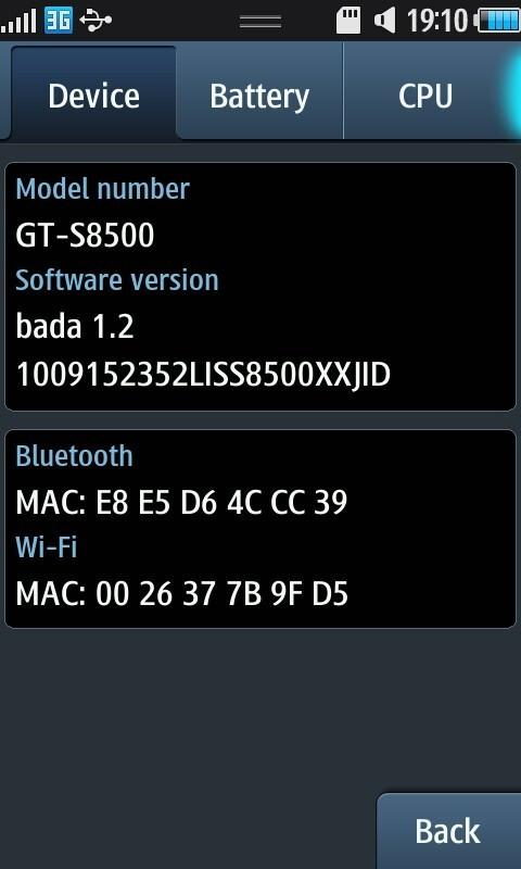 samsung bada 1.2 firmware download