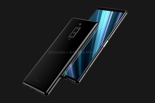 Sony Xperia XZ4 renders reveal massive no-notch screen, triple rear camera unit, and more surprises