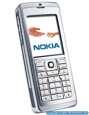 Nokia announced 3 new business oriented phones - E60, E61 and E70