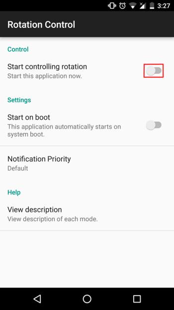 Erzwingen des Quer- oder Hochformatmodus in Apps wie Instagram und anderen (Android)