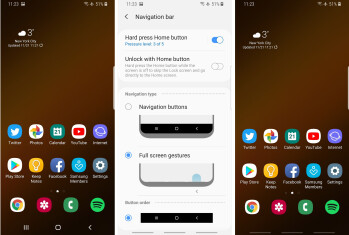 Samsung One UI Android Pie interface vs Experience 9, here's what's new - PhoneArena