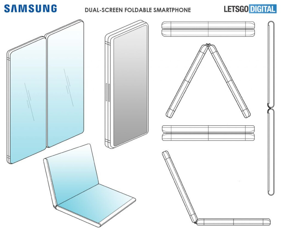 Foldable Galaxy F functionality gets hinted at in new Samsung patent