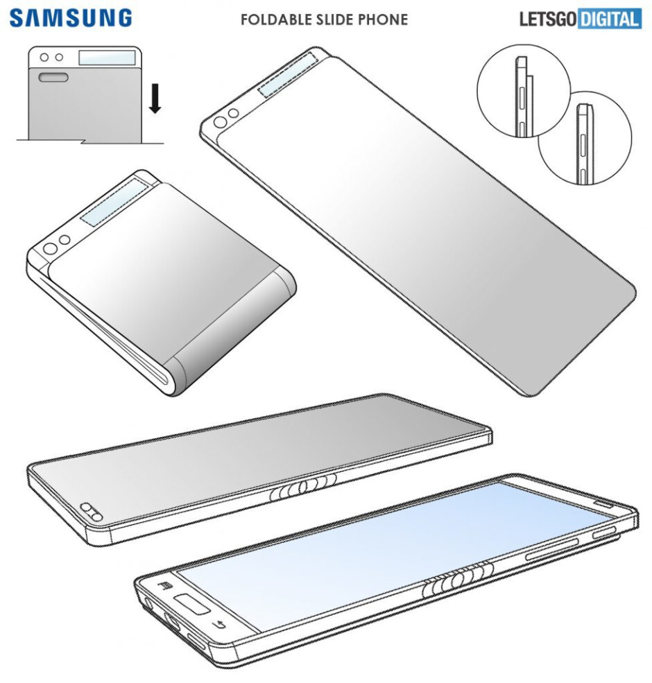A slidable phone which also folds? That's what Samsung's latest patent envisions