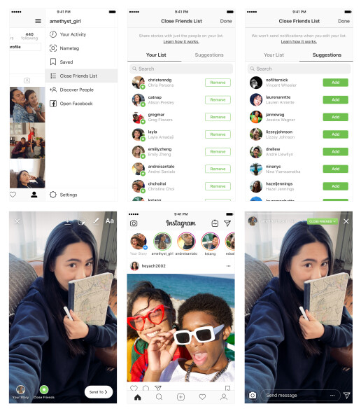 Instagram's latest feature lets you share your stories with a select few