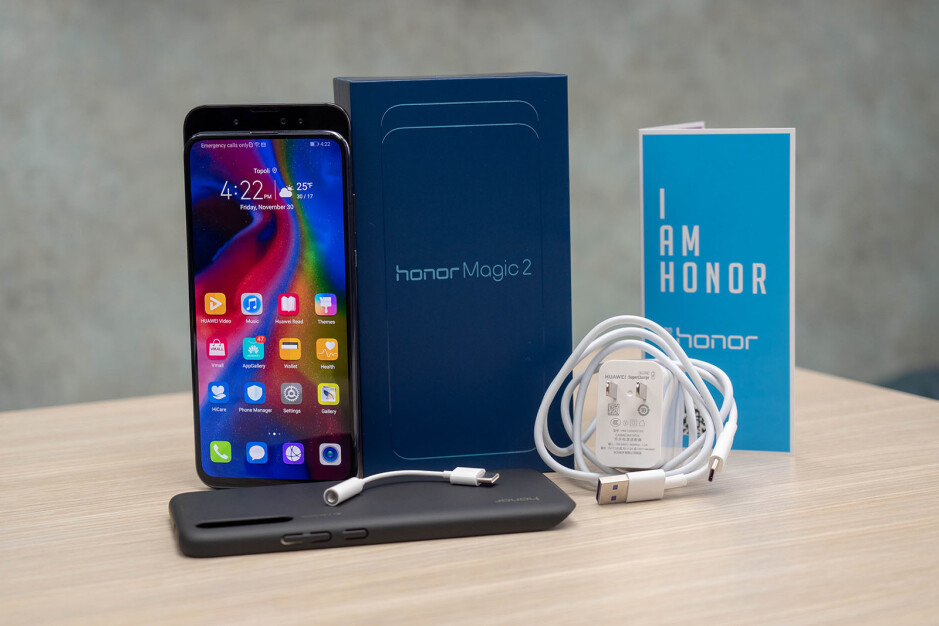Honor Magic 2: unboxing and hands-on first look
