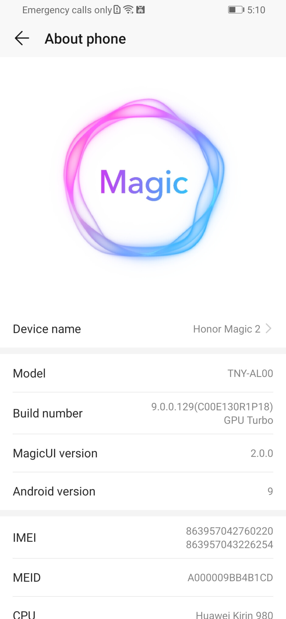 Magic 2.0 UI - Honor Magic 2: unboxing and hands-on first look