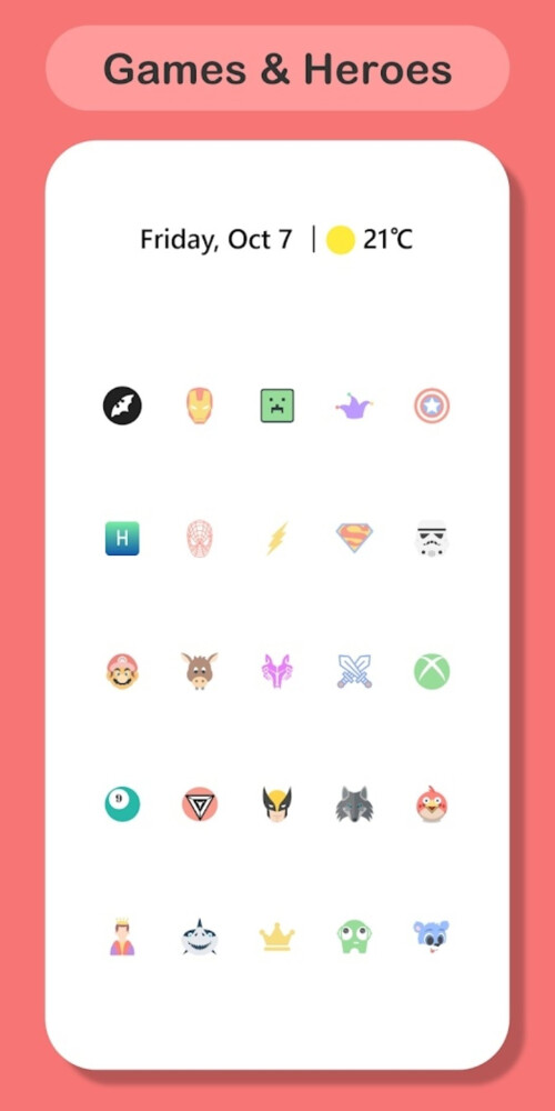 Precise icon pack