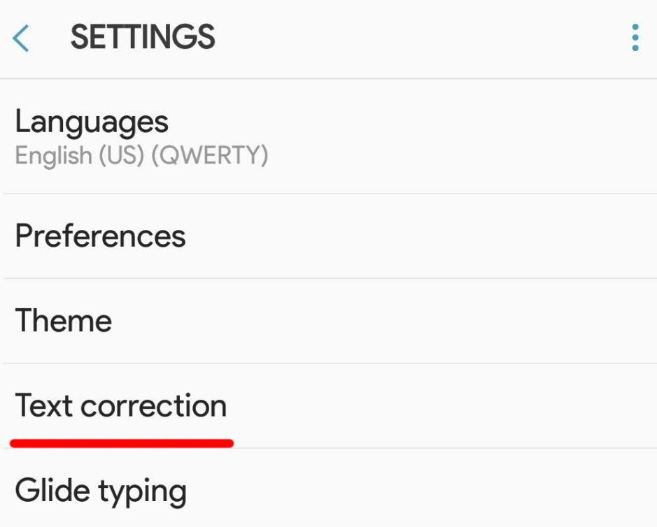Gboard's main settings page - How to turn off autocorrect on iPhone and Android