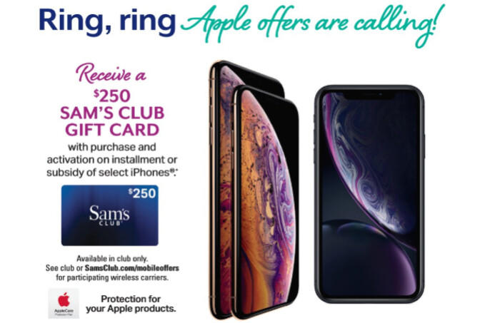 Sam's Club readies great deals on iPhone XS, Samsung Galaxy Note 9, and more