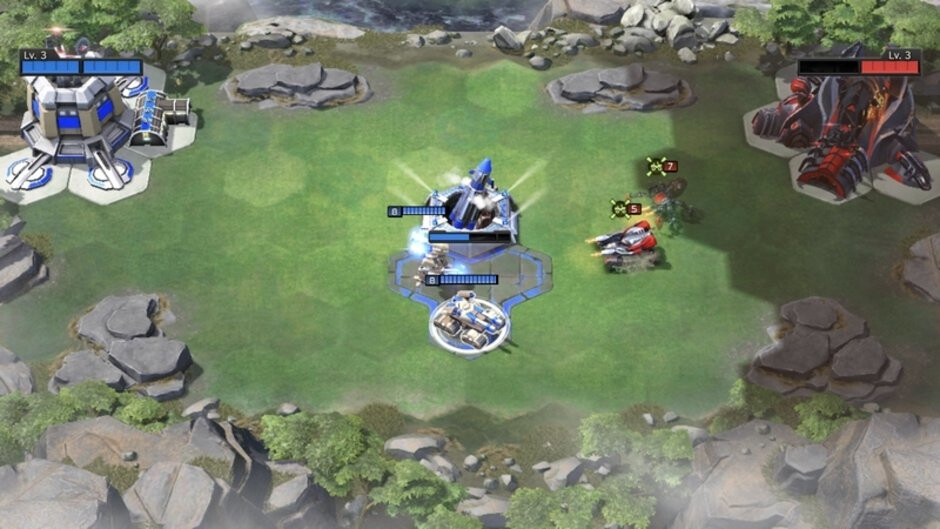Watch the nuke! - Command & Conquer Rivals review: is it a good strategy game for phones or a disgrace to the C&C series?
