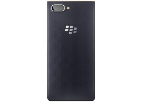 BlackBerry KEY2 LE in Atomic and Champagne colors