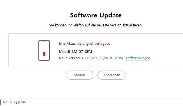 LG G7 ThinQ bootloop reports in Europe bring back bad