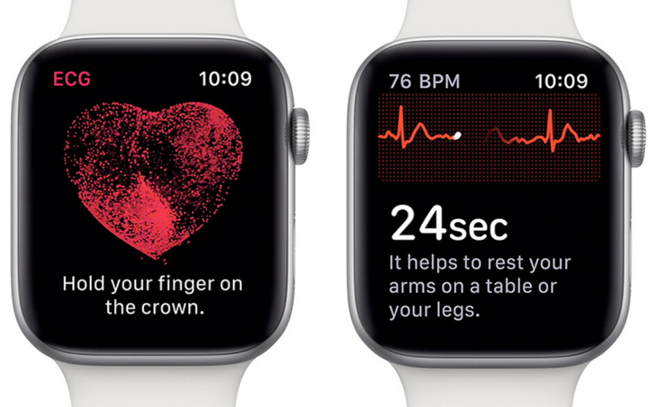 The latest watchOS update allows users of the Series 4 Apple Watch to look for heart rhythm irregularities using an ECG sensor - Videos show how Apple Watch saves lives; new update to watchOS 5.1.2 could save more