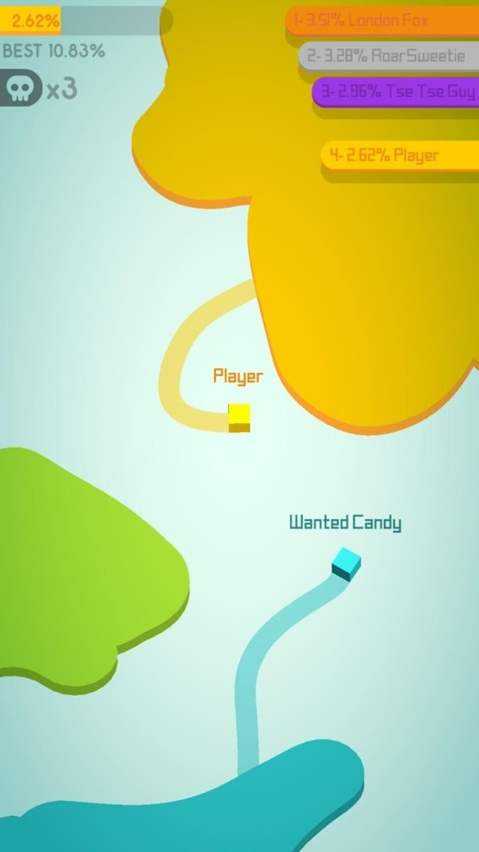Paper.io 2 - Best free iOS games to play on your iPhone or iPad in 2019