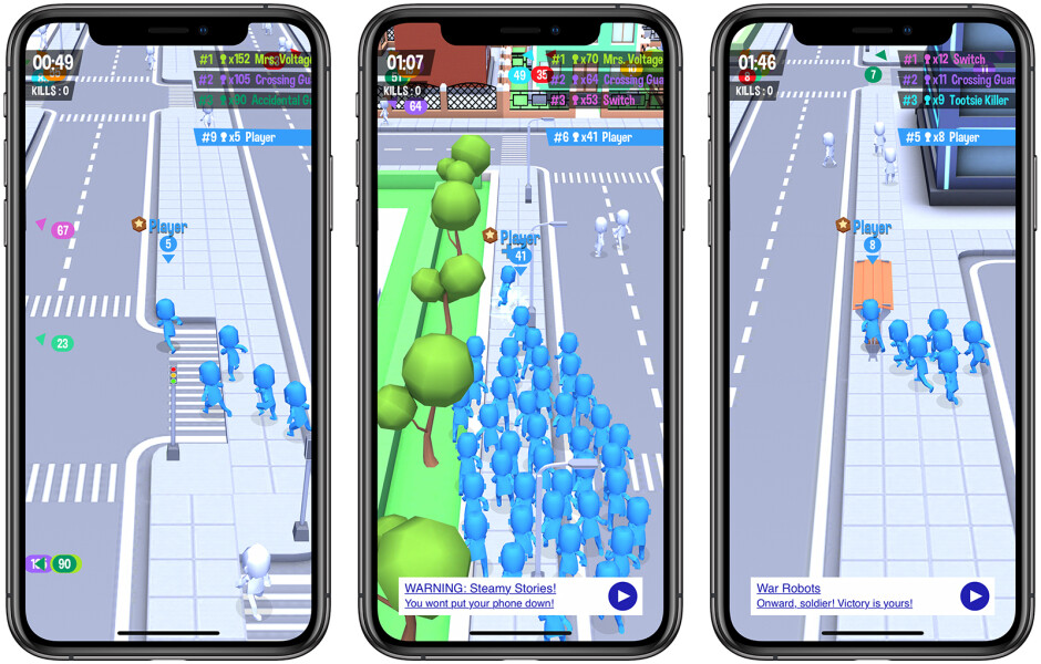 Crowd City - Best free iOS games to play on your iPhone or iPad in 2019