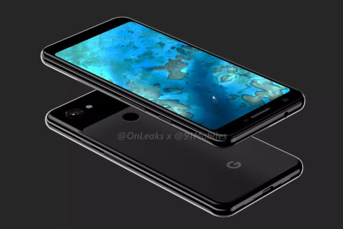 Google Pixel 3 Lite in Black and Pixel 3 Lite XL in White