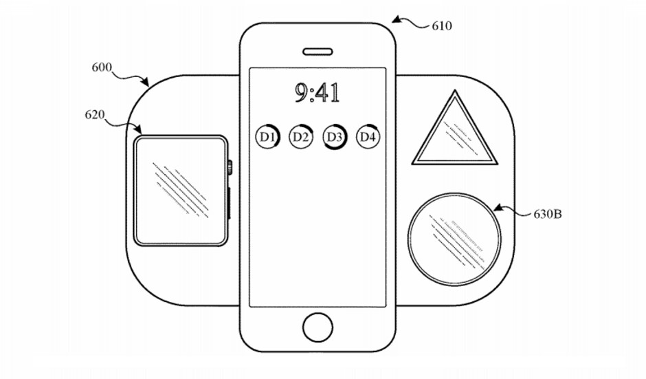 You'll be able to charge your favorite Apple Circle and Apple Triangle at the same time! - The infamous AirPower shows up… in patents, this time describing some of its advanced features