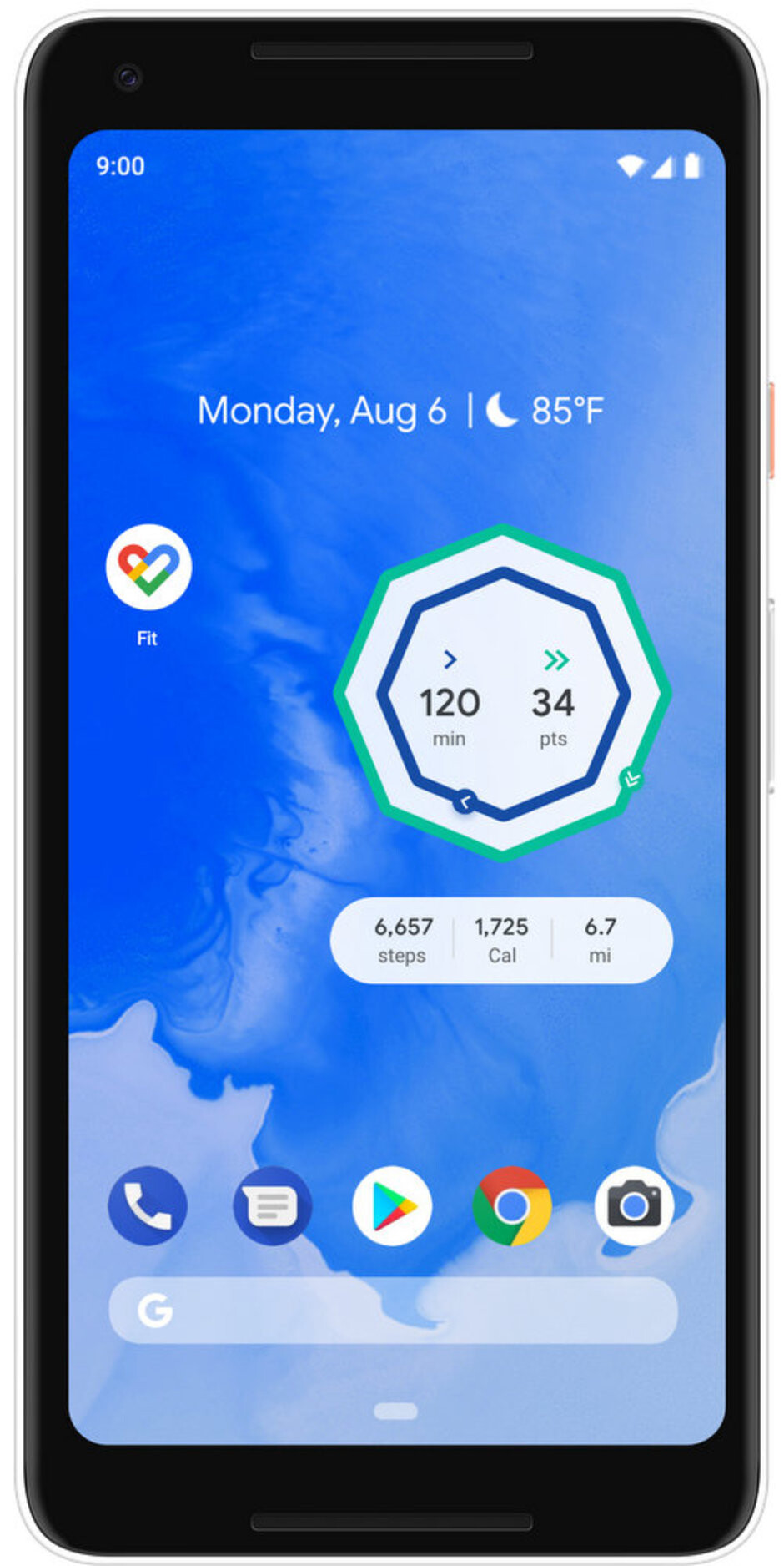 Google Fit widget - Google Fit update brings widgets and guided exercises this holiday season