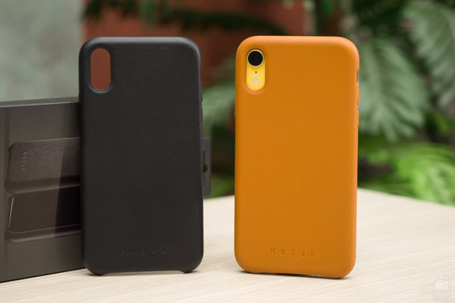 Mujjo Full Leather case - The ultimate Apple iPhone XR case overview
