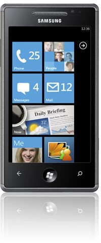 Samsung Omnia 7 - Samsung Omnia 7 and LG Optimus 7 announced ahead of the official WP7 launch