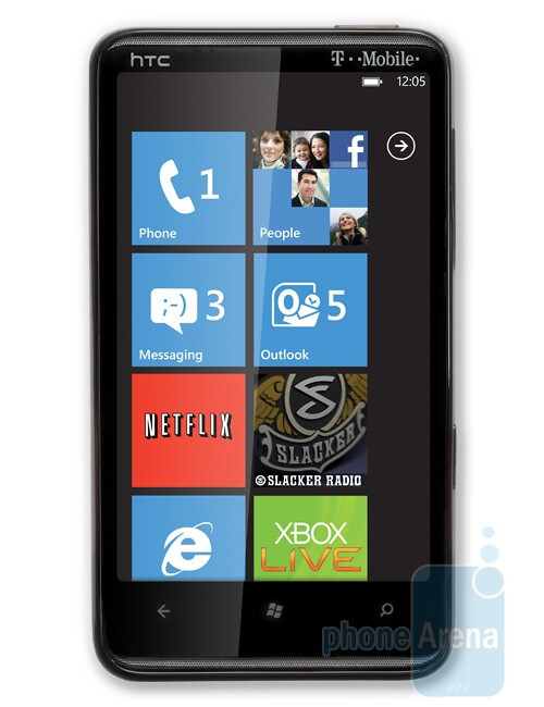 HTC HD7 for T-Mobile - T-Mobile announces the HTC HD7 and Dell Venue Pro Windows Phone 7 handsets