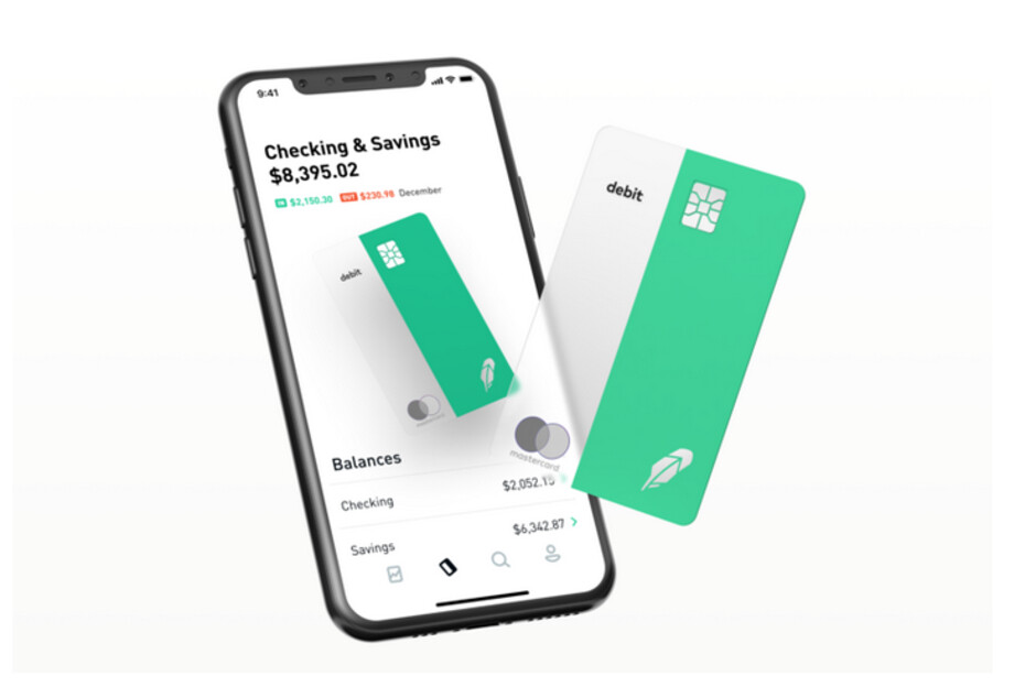 Brokerage and banking services are available together on the Robinhood app - Robinhood adds free no-fee checking and banking to its trading app