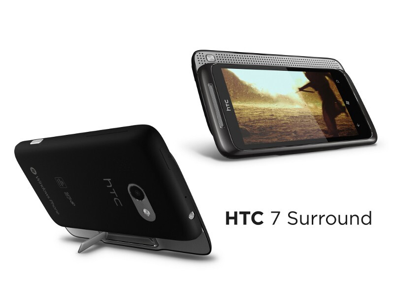 HTC Surround - AT&T unveils the official names of its Windows Phone 7 stable