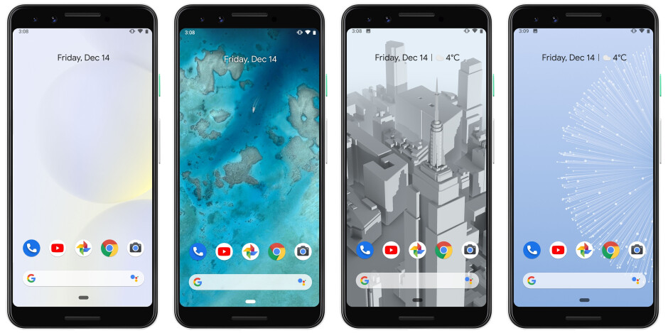 What were the top features of 2018 smartphones?