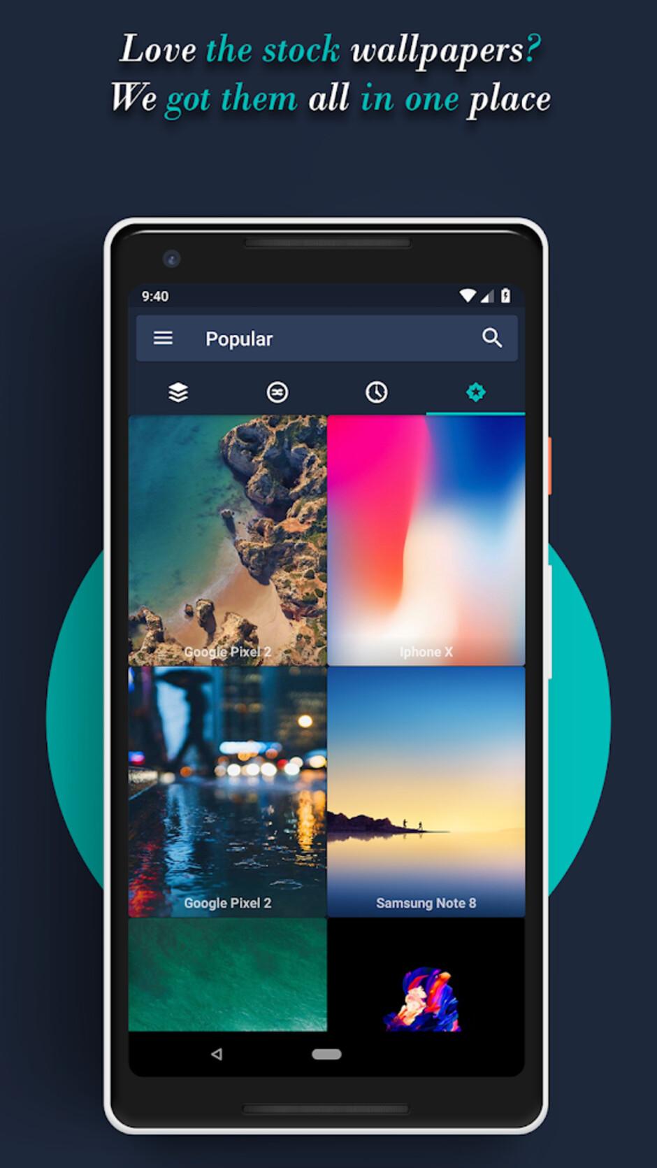 Wonderwall - Best Android apps