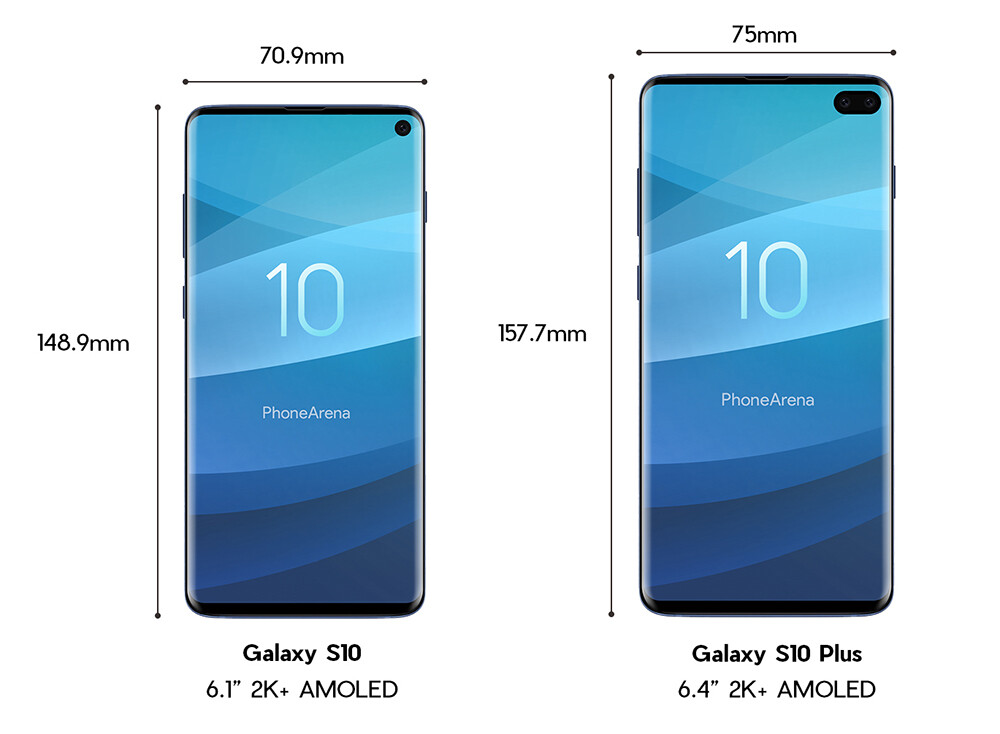 samsung galaxy s10 and s10 leak in full here s a closer look