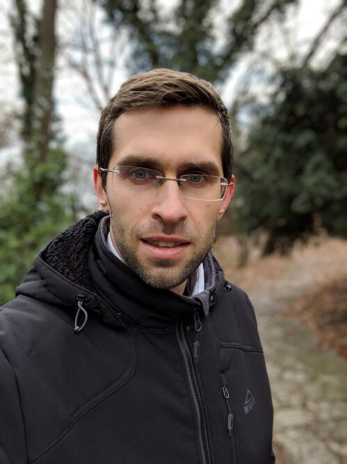 Pixel 3 Portrait Mode Selfie