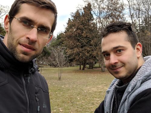 Pixel 3 Zoomed Selfie Mode