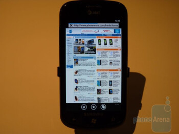 Hands-on with AT&T's Windows Phone 7 smartphones