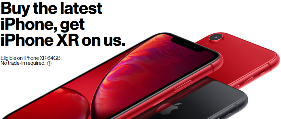 Deal: Buy a Verizon iPhone XR or Google Pixel 3 and get another similar phone for free