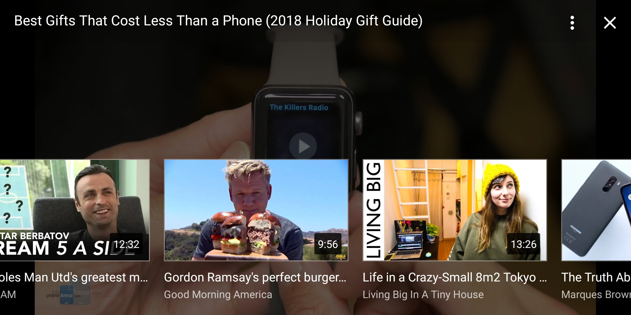 how to clear youtube watch history on android