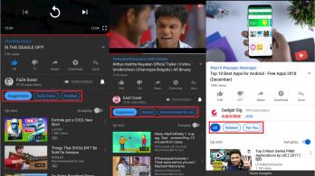O YouTube testa uma maneira de os usuários terem controle sobre a próxima coluna