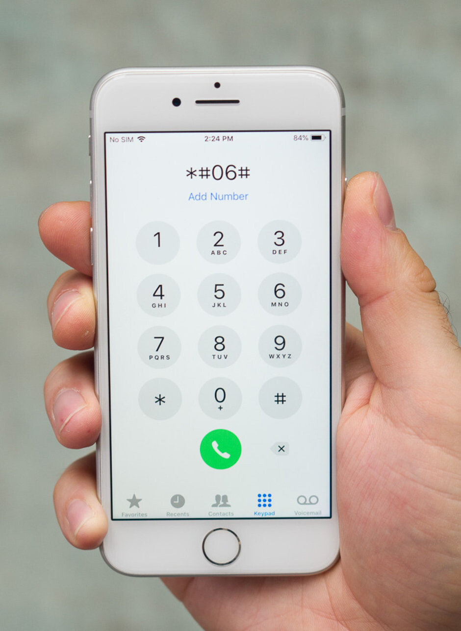 How to find a phone's IMEI number