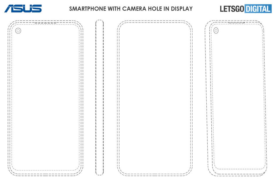 Asus upcoming phones may adopt pop-up and hole in display camera designs