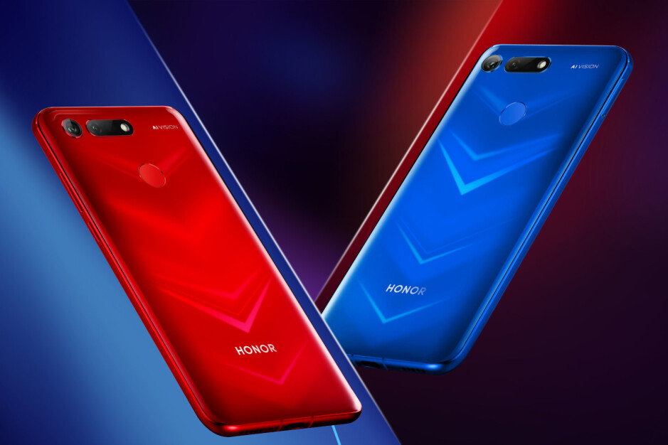 Honor View 20 officially unveiled as world's first smartphone to use nanolithography