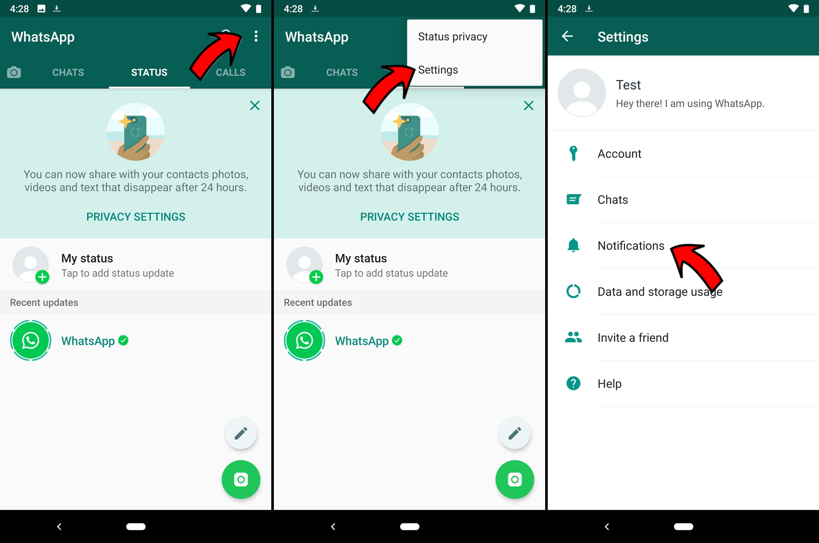 How to change the notification sounds in facebook messenger hangouts viber and whatsapp